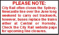 Note re No Trains